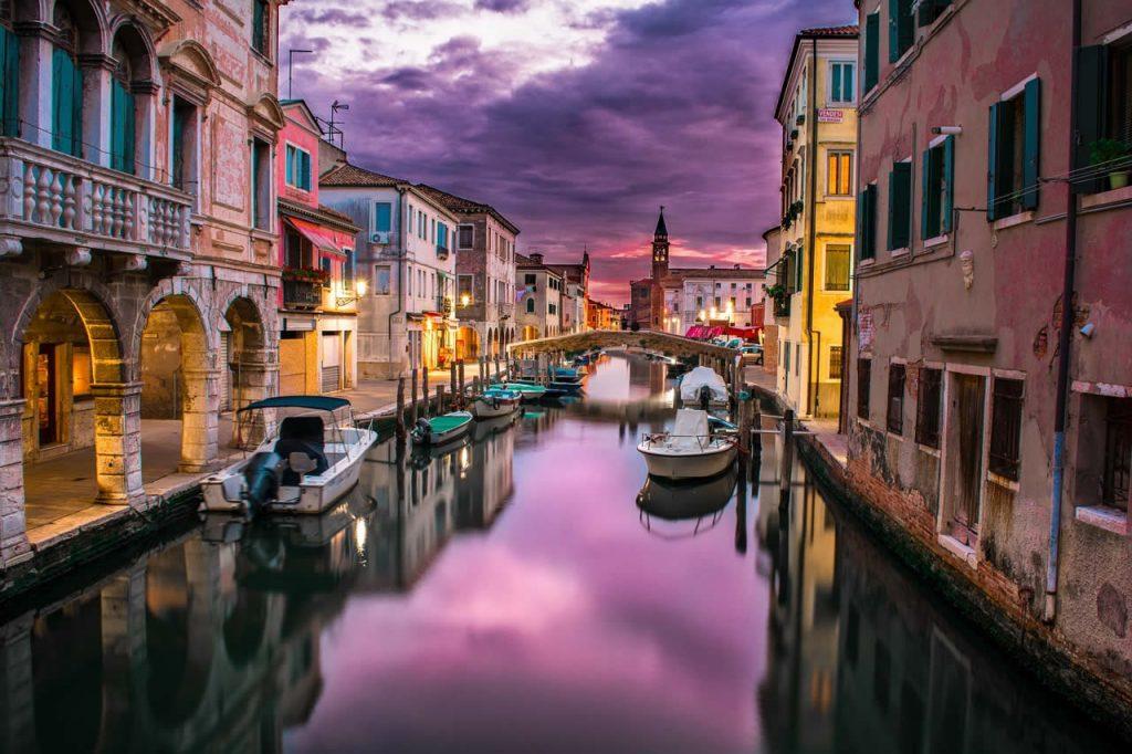 Canal des amoureux a Venise